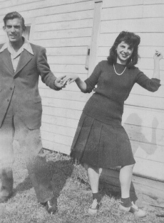 My mom. She loved to dance.
